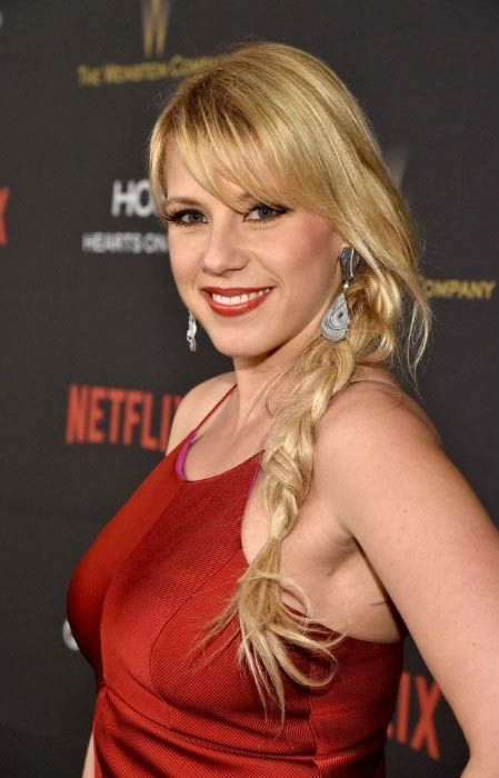 Jodie Sweetin at The Weinstein Company and Netflix Golden Globe Party in January 2016...