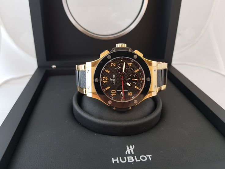 Продам мужские часы Hublot Big Bang Big Bang  Gold Ceramic 44 mm 301.PB.131.PB оригинал на браслете в Киеве!  http://goldclub.in.ua/item/hublot-big-bang-big-bang-gold-ceramic-44-mm-301pb131pb_2961.html