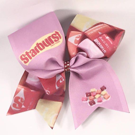 Pink Starburst Cheer Bow