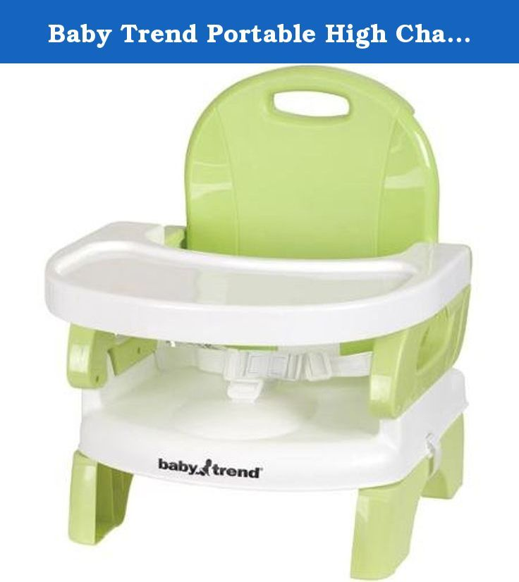 Baby Trend Portable High Chair/Booster Seat, Lime Features of a Full-Size High Chair Without Taking up the Space. This Baby Trend Portable High Chair/Booster Seat is sure to keep your little one happy during feeding and play time. It offers all the features of a full-size high chair without taking up the space. The Baby Trend Portable Booster Sear/High Chair has two height adjustments plus a three-position, one-hand-removable dishwasher-safe tray. Super-fast compact folding makes it great...