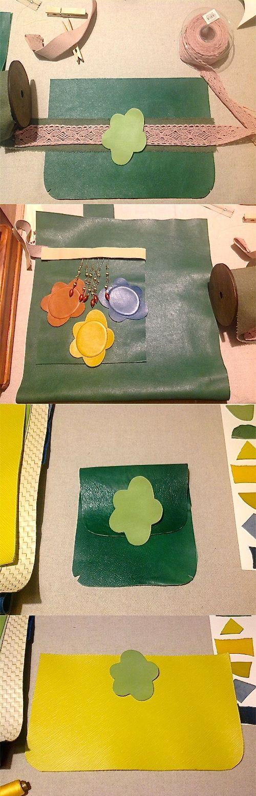 Green ideas ...      #bags #backpacks #crossbody #purses #clutch #leather #fashion #girl  #womanaccessories #stylish #womanish #Italy #italian #handamade  #handmadeinitaly #borsebyd #colors  #carryall #giftideas #spring #clutch #keychain