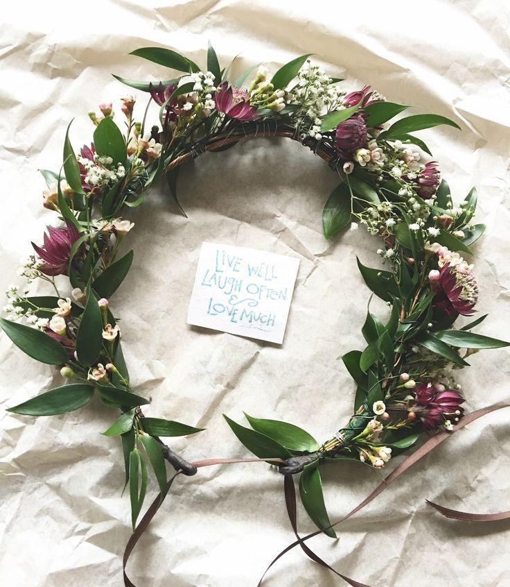 17 Best Ideas About Black Flower Crown On Pinterest: 17 Best Ideas About Bridal Flower Crowns On Pinterest