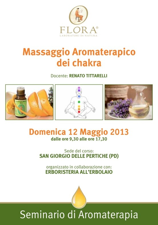 #Corso #Aromaterapia #Padova #Chakra
