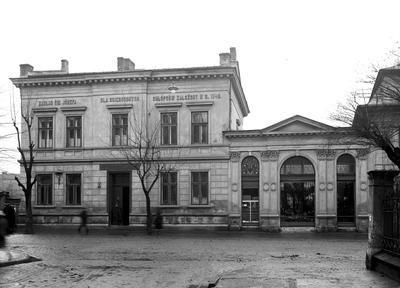 Zakład św. Józefa dla Osieroconych Chłopców przy ulicy Karmelickiej w Krakowie.Data wydarzenia:1929-11