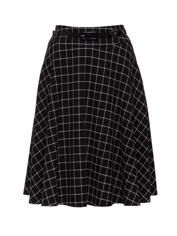 Vienna Tunic Dress | Black/Cream | Dresses