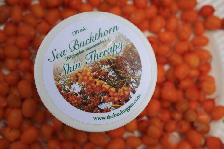 Healing Sea Buckthorn cream, ideal for rosacea, fine lines, and mild acne. www.facebook.com/seabuckthorngoldenorchard