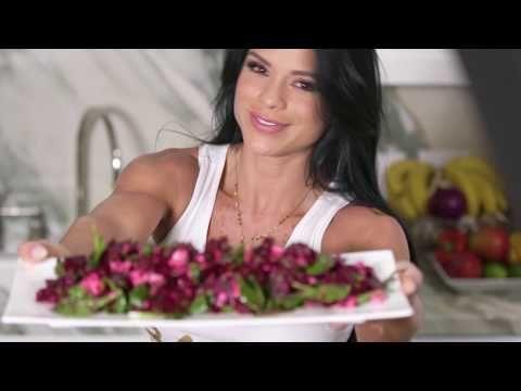 MICHELLE LEWIN Diet: Beet and Feta Salad / Ensalada de feta y remolacha - YouTube