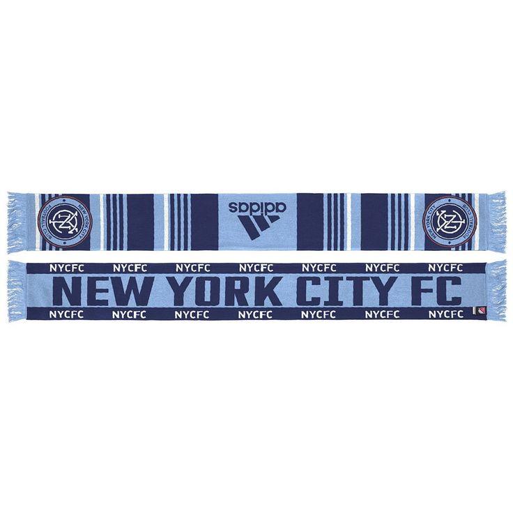 Adult Adidas New York City FC Team Slogan Scarf, Adult Unisex, Multicolor