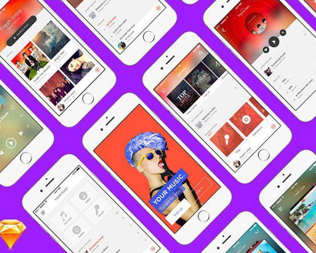 Some Of The Best Sketch App Freebies For Designers  Design Web Design Ledger