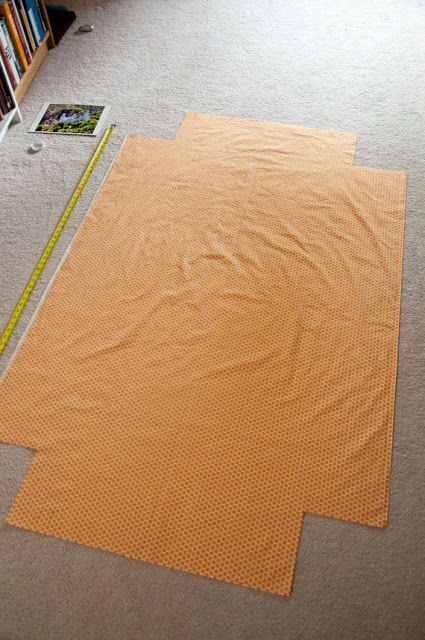 Fitted Crib Sheet Tutorial- I use this for when Hailey is ready for a toddler bed. She can have any kind of sheets you want for her.