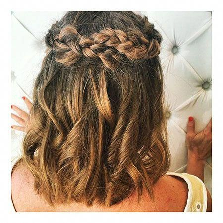 28 Short Hairstyles for Prom - Love this Hair #Shorthairwedding