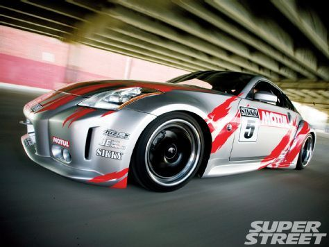 LS1 Powered 2003 Nissan 350Z