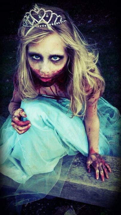 zombie prom queen give me the chills great make up or - Great Halloween Ideas