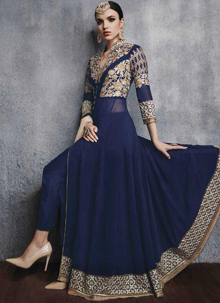 25  best ideas about Anarkali gown on Pinterest | Anarkali, Indian ...