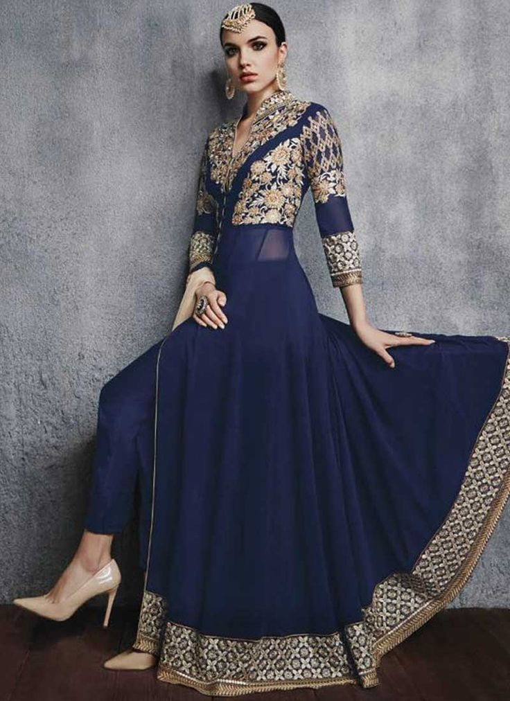 25  best ideas about Anarkali gown on Pinterest | Anarkali, Indian ...