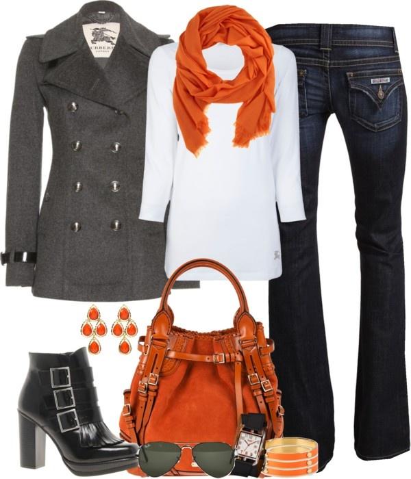 Love the orange