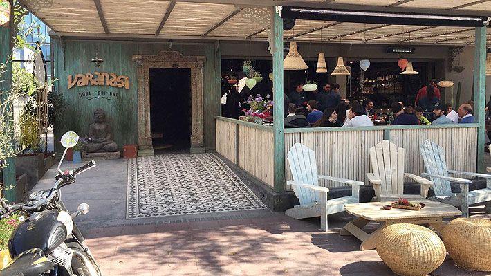 Para disfrutar: terrazas para aprovechar las tardes santiaguinas | Varanasi Soul Food