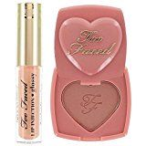 Too Faced Naughty Kisses & Sweet Cheeks Set Deluxe Lip Injection in Milkshake and Blush in Baby Love - http://47beauty.com/cosmeticcompanies/too-faced-naughty-kisses-sweet-cheeks-set-deluxe-lip-injection-in-milkshake-and-blush-in-baby-love/ https://www.avon.com/?repid=16581277 Sweep the blush along your cheekbones for a long-wear, pretty flush. Create a juicy pout by applying Lip Injection Glossy over lip liner, lipstick or on bare lips. A slight tingling sensation that c