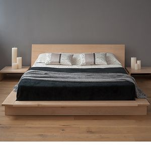 Oregon is a low, solid wood, platform bed, with an ultra-modern style. Available in a range of timbers including oak, walnut and maple. Free UK Delivery.