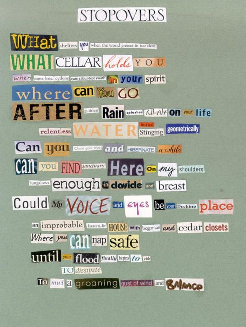26 Best Found Poetry Examples Images On Pinterest Poetry Examples