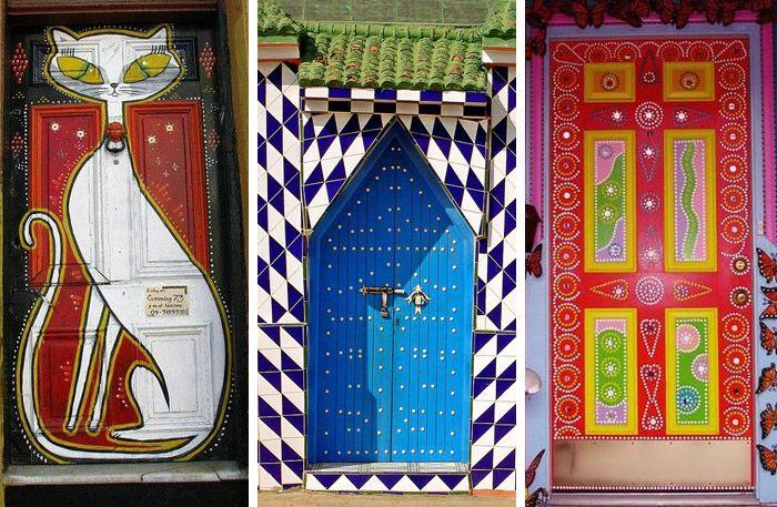 Välkommen in! 21 vackra dörrar att inspireras av