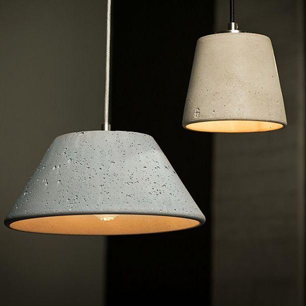 Zeitlose Pendelleuchte Aus Beton OLYMPUS Von Design Betonleuchten, Bild 18:  Betonlampen Faszinieren Durch