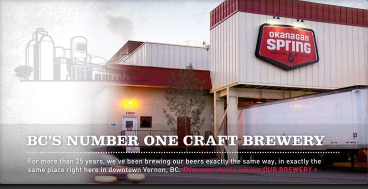 Okanagan Spring Brewery | Vernon, BC