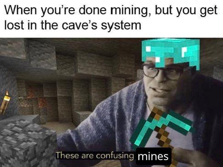 minecraft memes 2020 clean