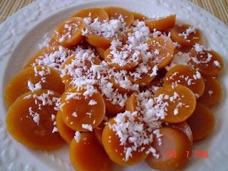 Kutchinta recipe. Filipino dessert. Top it with grated coconut & powdered sugar!
