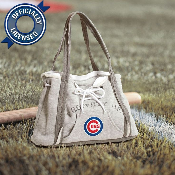 Officially Licensed Cubs Hoodie Purse
