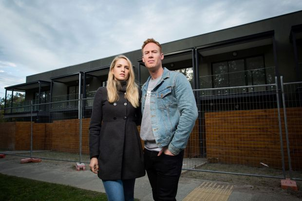 Melbourne newlyweds' dreams crushed by apartment developer's sunset clause