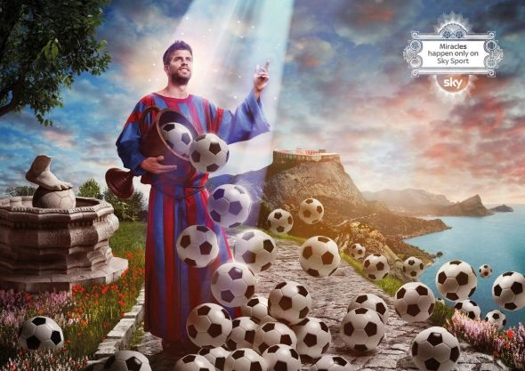 """The Hand of God, and other soccer . . . Miracles?"""" Ch. 7. A lot of people went insane with Maradona's goal and made it seem like God had intervene in it. """"Un poco con la cabeza de de Maradona y otro poco con la mano de Dios"""" ( Pg.89). I believe it wasn't a miracle, even though it in someway relates to St. Thomas Aquinas sayings of what a miracle can be. Miracles happen only on Sky Sport."""