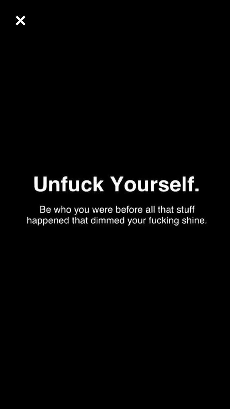 Exactly! Some people just are ...or rather become unfuckwithable