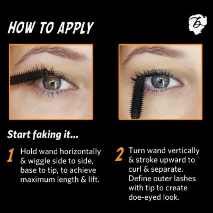 How to apply mascara, works for all types of mascara. If applying multiple coats from different brands, continue this process