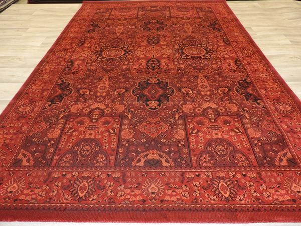 Red Afghan Design Turkish Rug Size: 160 x 230cm