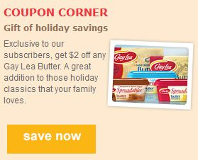 $2 off Gay Lea Butter