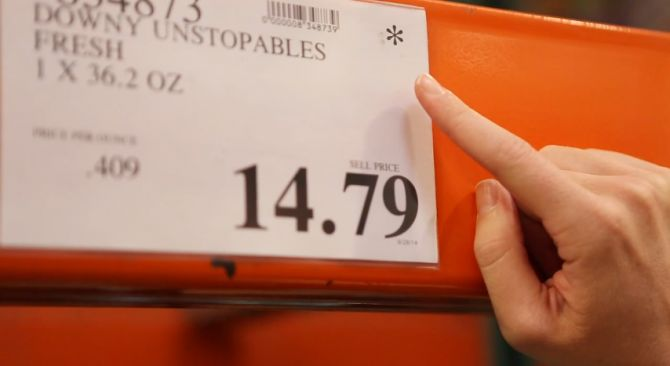 Costco Shopping Tricks - Secrets of Shopping at Costco - an asterisk means the item will no longer be stocked