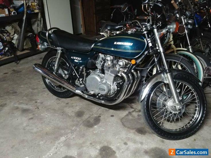 1977 Kawasaki Kz1000 A1 Kawasaki Kz1000a1 Forsale Unitedstates Motorcycles For Sale Kawasaki Kawasaki Motorcycles