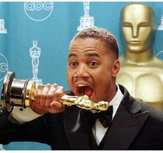 Cuba Gooding Jr: Oscar winner for Best Supporing Actor for Jerry Maguire in 1996