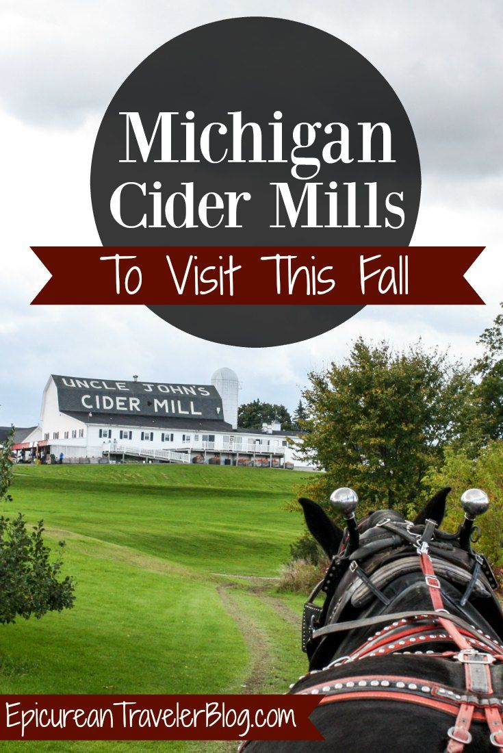 In Michigan, visiting cider mills is quintessential to fall. This post shares three to add to your itinerary! | EpicureanTravelerBlog.com