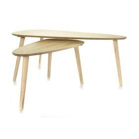 Coffee Tables - Natural, Set of 2