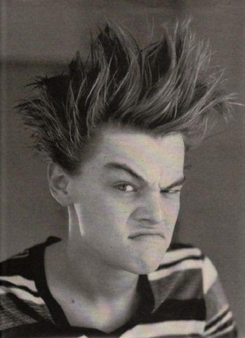 Leonardo Dicaprio- laughed way too hard :D