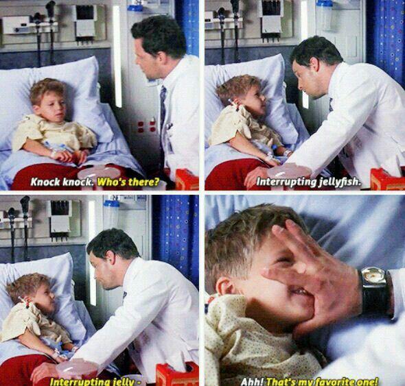Alex Karev, king of peds.