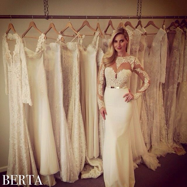 Berta Beauty From Our Chicago Trunk Show At @Ultimate Bride. Wedding Gown  LaceVintage ...