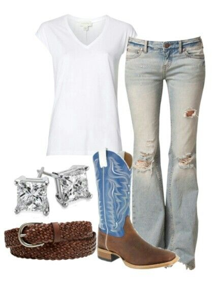 25+ best ideas about Casual country outfits on Pinterest ... - photo#30