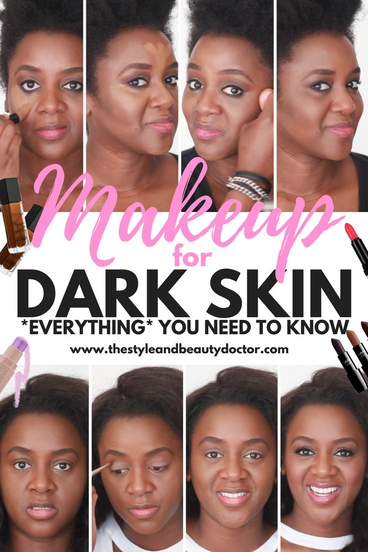 EVERYTHING you need to know about makeup for dark skin