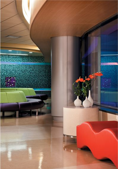We think the Radius Lounge at the Phoenix @Julie Weidner's Hospital is AWEsome!