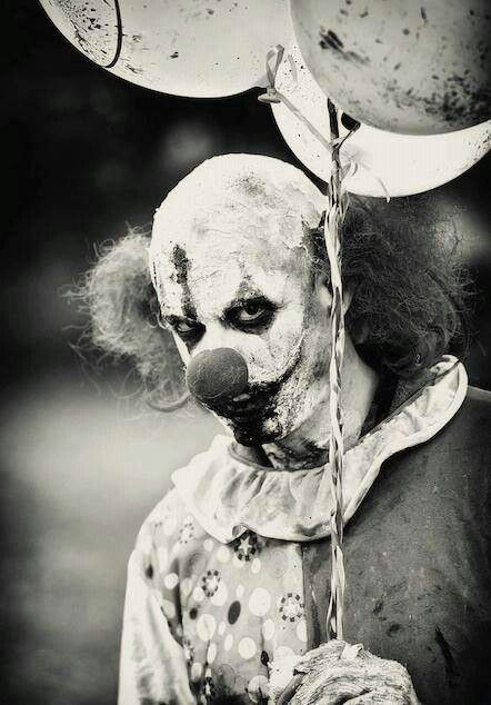 Just another creepy clown...