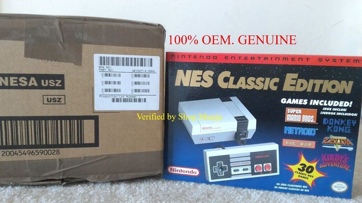 (100%Rate & OEM) NEW Nintendo NES Classic Edition Console Mini. 100%Genuine. USA: $189.95 End Date: Friday Mar-30-2018 13:13:46 PDT Buy It…