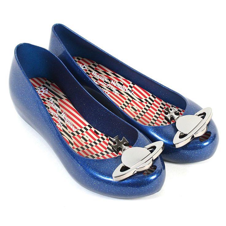 Vivienne Westwood Shoes- VW Ultra Girl Pumps Navy Glitter Orb - UK Ladies Size 6 | eBay